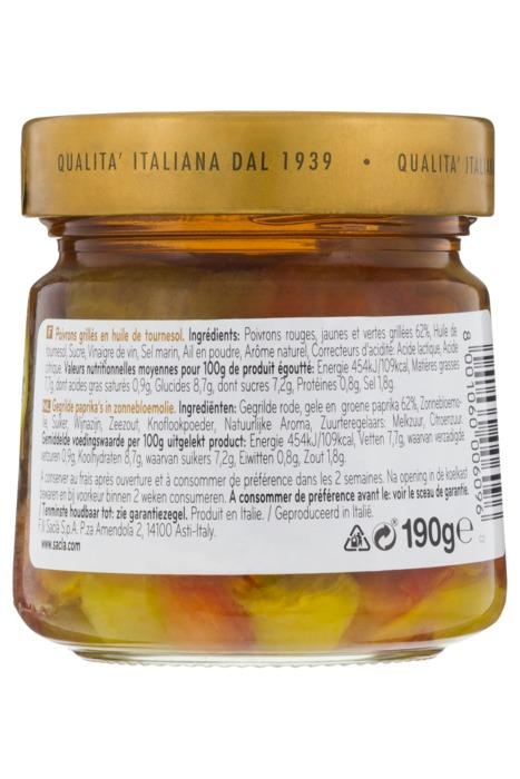 Peperoni grigliati (Pot, 190g)