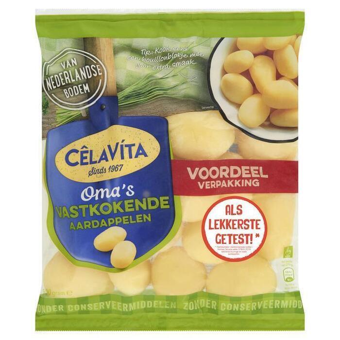 CelaVita, Aardappels om te koken Vastkokend (zak, 900g)