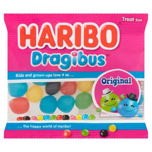 Haribo Dragibus Original Treat Size 25 g (25g)
