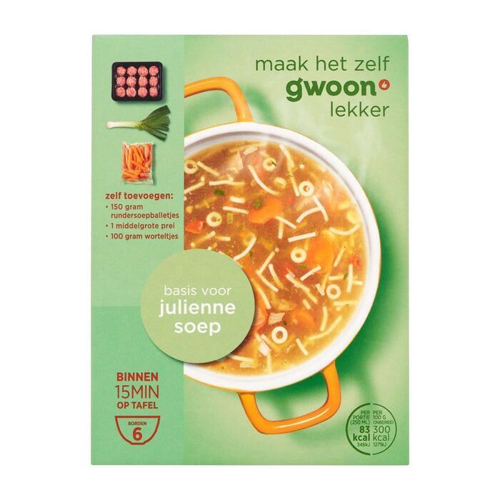 g'woon Juliennesoep (70g)