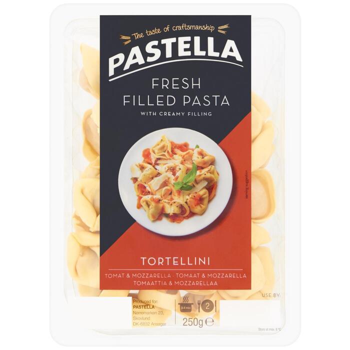 Tortellini met tomaat en mozzarella (250g)