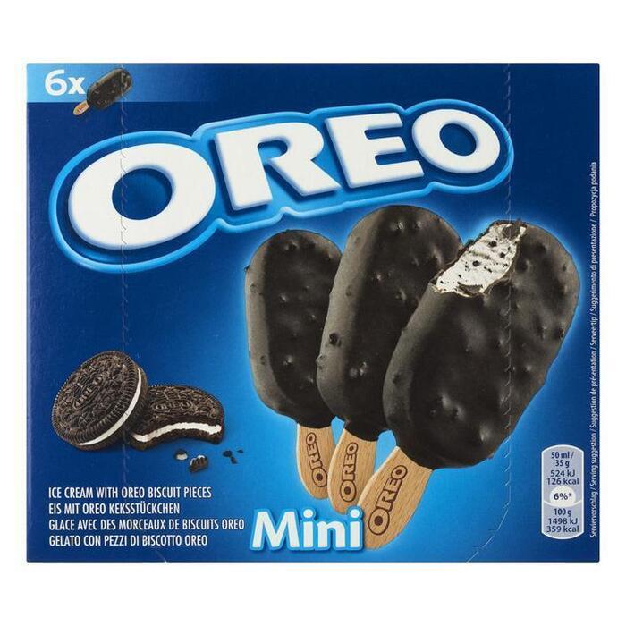 Oreo Ice cream with oreo biscuit mini (6 st.)