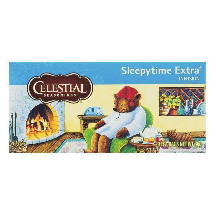 Celestial Seasonings Sleepytime Extra Infusion Tea 20 Stuks 35g (20 × 35g)
