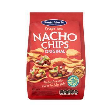 Santa Maria Nacho Chips Original (185g)