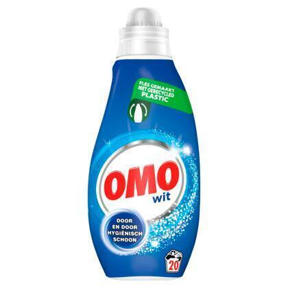 Omo Klein & Krachtig Vloeibaar Wasmiddel Wit 20 Wasbeurten (0.7L)