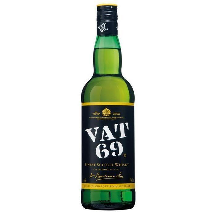 Vat 69 Finest Scotch Whisky 70cl (rol, 70 × 0.7L)