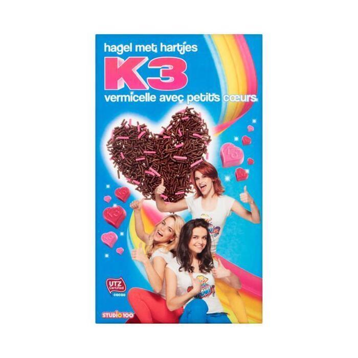 K3 Hagel met Hartjes 400 g (400g)