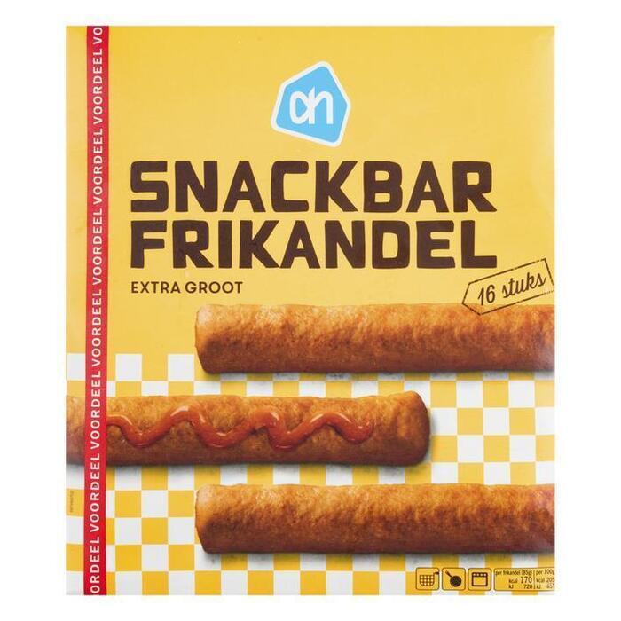 Snackbar frikandellen voordeel (doos, 1.36kg)