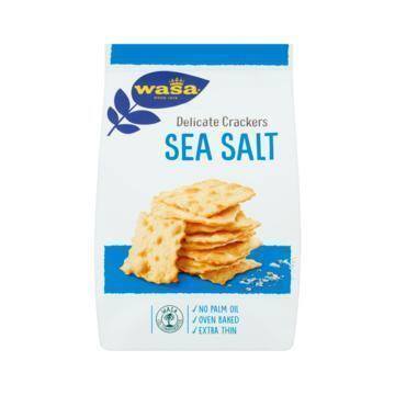 Wasa Delicate Crackers Sea Salt 180g (180g)
