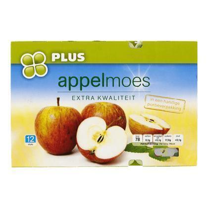 Appelmoes (kuipje, 12 × 100g)
