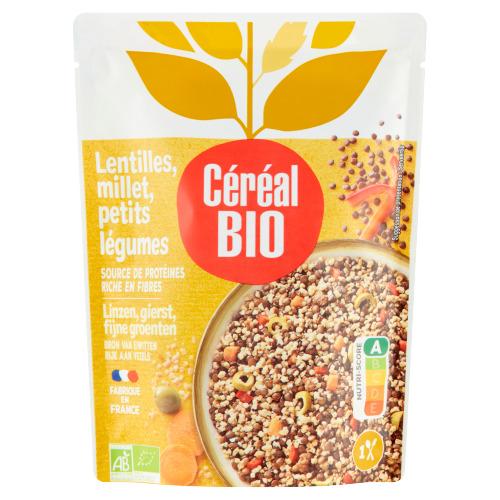 Céréal Bio Linzen, Gierst & Fijne Groenten 250 g (250g)