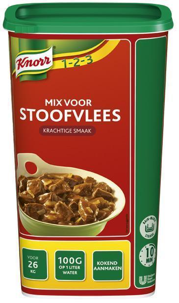 Knorr Mix Voor Stoofvlees 1.4Kg 6X (6 × 1.4kg)