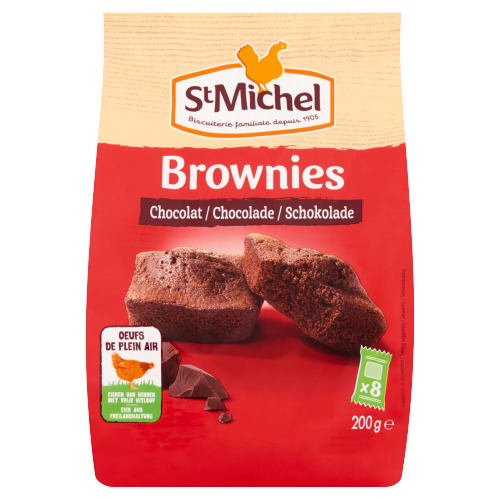 St Michel Brownies Chocolade 200 g (200g)