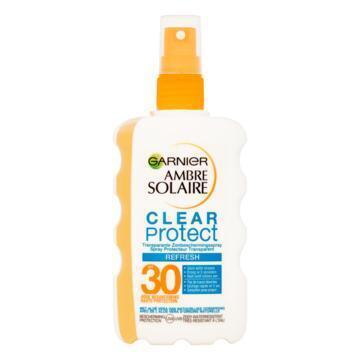Ambre Solaire Clear protect spray SPF 30 (200ml)