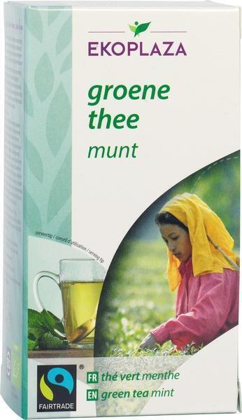 Groene thee munt builtjes (doos, 20 st.)
