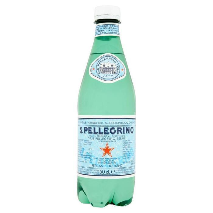 S. Pelligrino Bruisend Mineraalwater (Petfles, 6 × 0.5L)