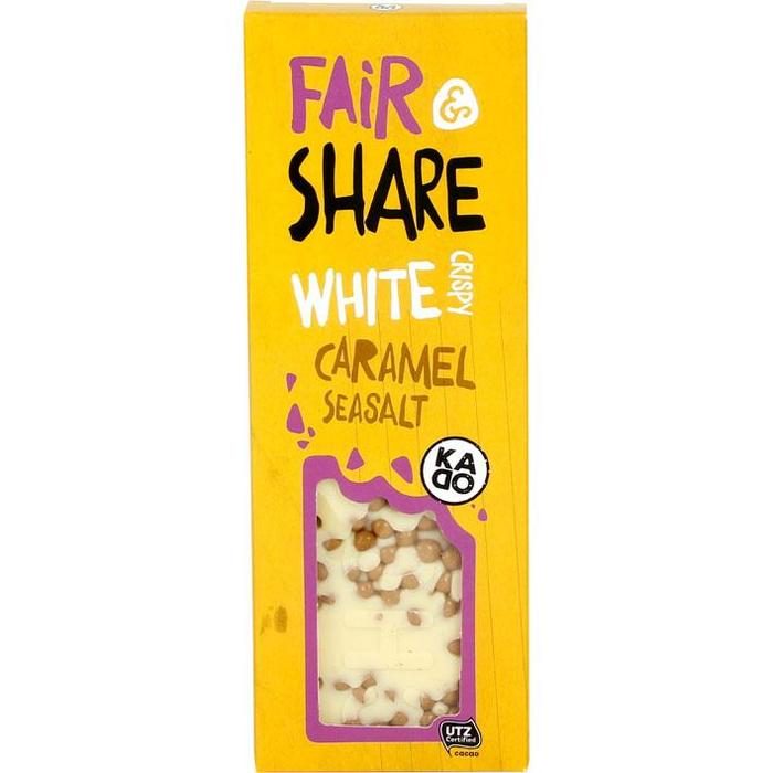 KADOO Fair&share white crispy caramel seasalt (100g)