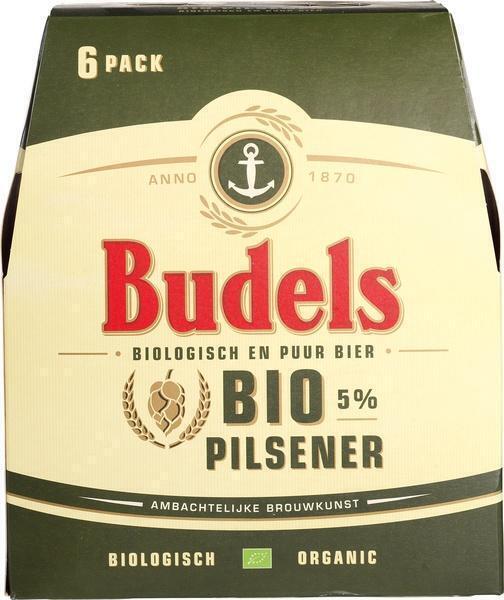 Budels Bio Pilsener (glas, 33cl)