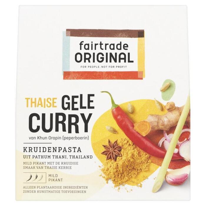 Gele curry kruidenpasta (70g)