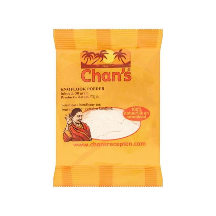 Chan's Knoflook Poeder 50g (50g)