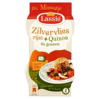Minuutje zilvervliesrijst met quinoa (250g)
