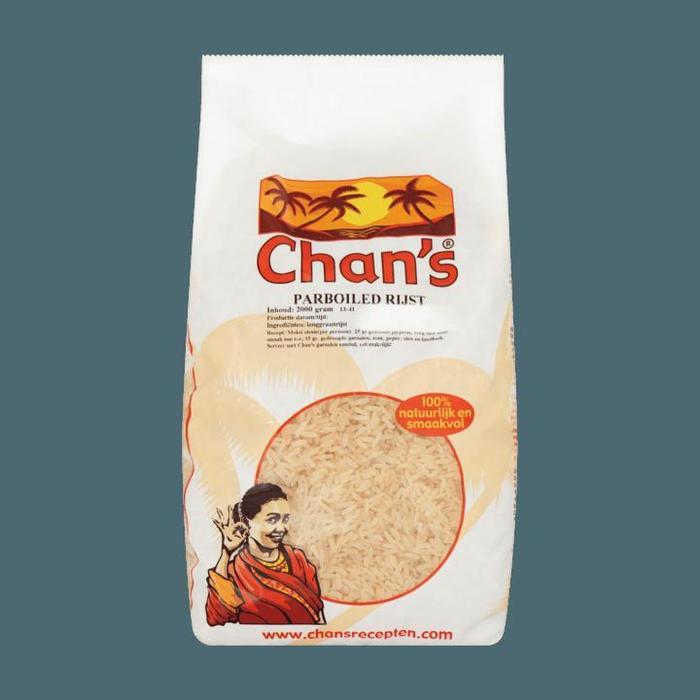 Chan's Parboiled Rijst (2kg)