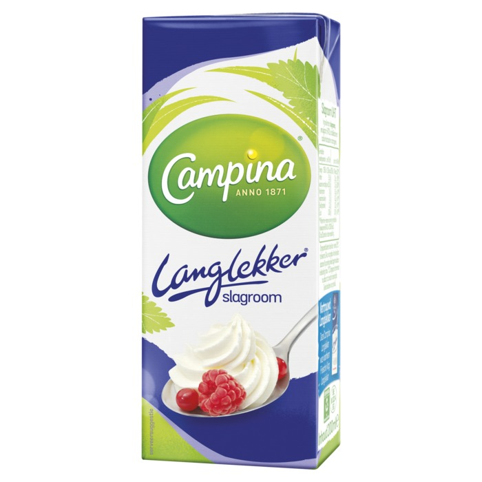 Langlekker slagroom (200ml)