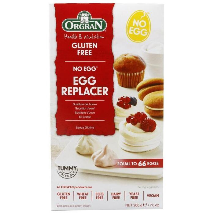 No egg natural egg replacer (doos, 200g)