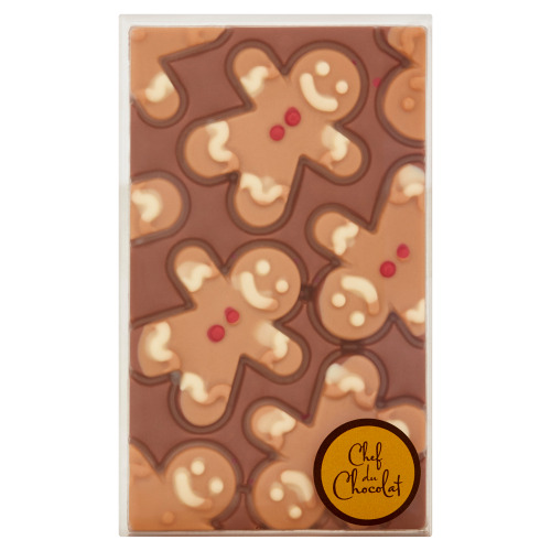 Chef du Chocolat Tablet Gingerbreadman 150 g (150g)
