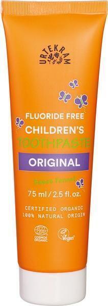 Kindertandpasta original (zonder fluor) (75ml)