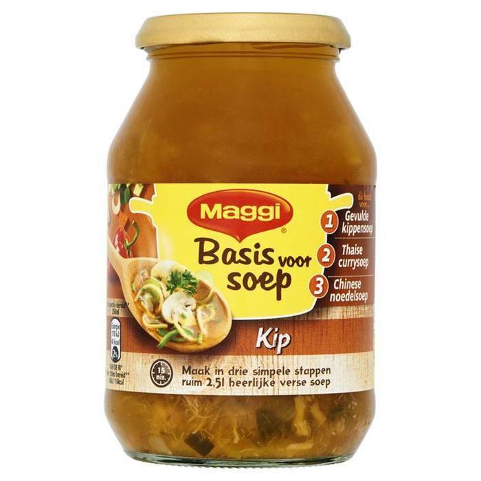 Basis voor Soep Kip (Stuk, 48.5cl)