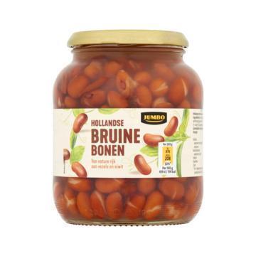 Jumbo Hollandse Bruine Bonen 680 g (680g)