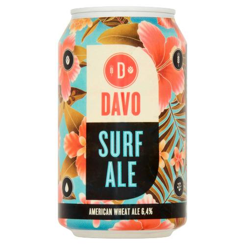 Davo Surf Ale Blik 330 ml (rol, 33 × 33cl)