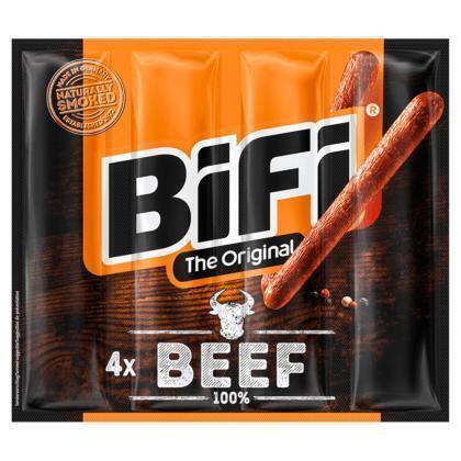 BiFi 100% beef (4 × 80g)