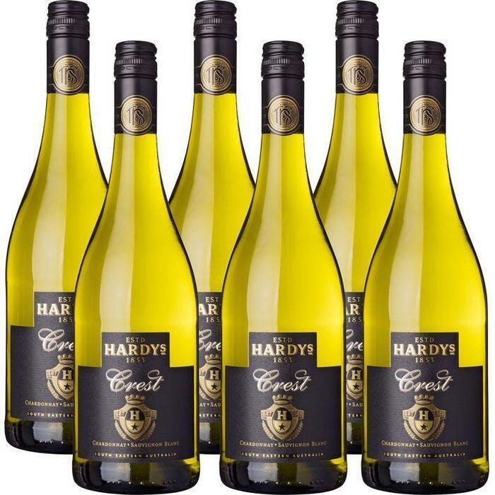 Hardys Chardonnay sauvignon blanc (6 × 0.75L)