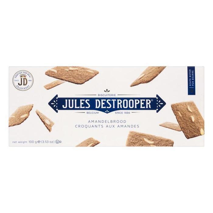 Jules Destrooper Almond thins (100g)