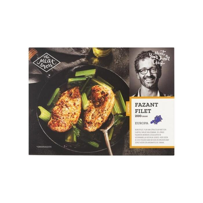 The Meat Lovers Fazant Filet 2 Porties 200g (200g)
