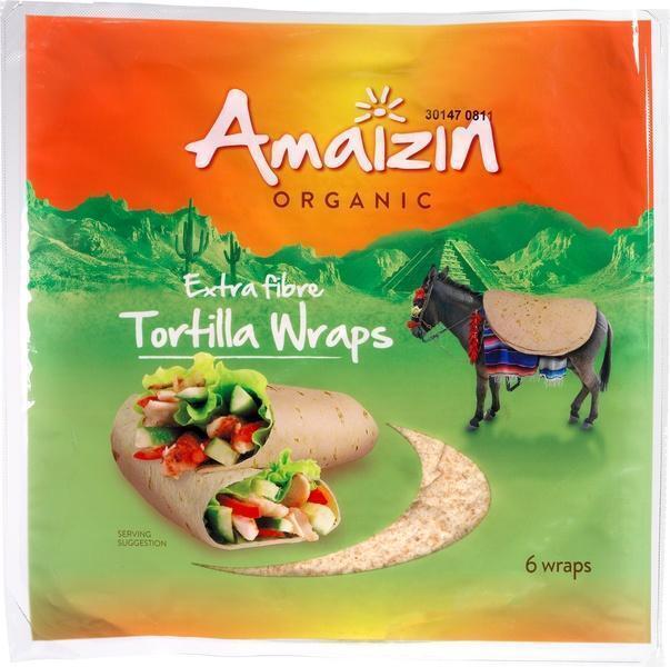 Tortillawraps extra fibre (6 × 240g)
