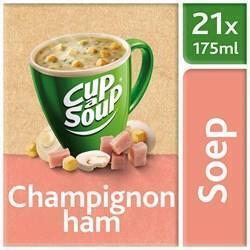 UNOX CUP-A-SOUP CHAMPIGNON HAM 21 ZAKJES (bak, 21 × 15g)