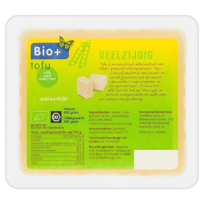 Bio+ Tofu 450 g (Stuk, 400g)