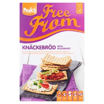 Peak's Free From Knäckebröd met Boekweit 250 g (250g)