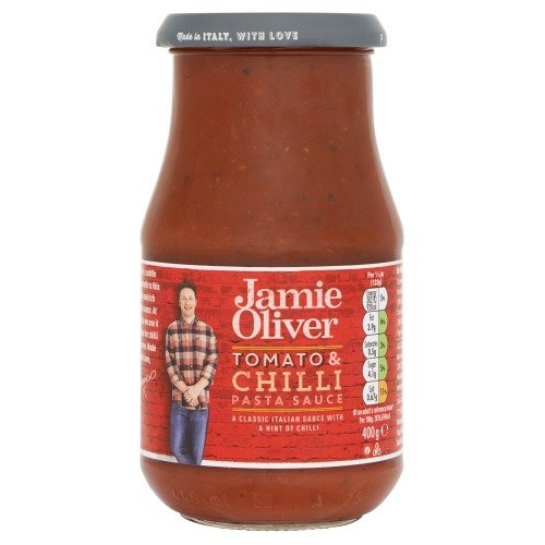 Jamie Oliver Pastasaus tomato & chilli pasta sauce (400g)