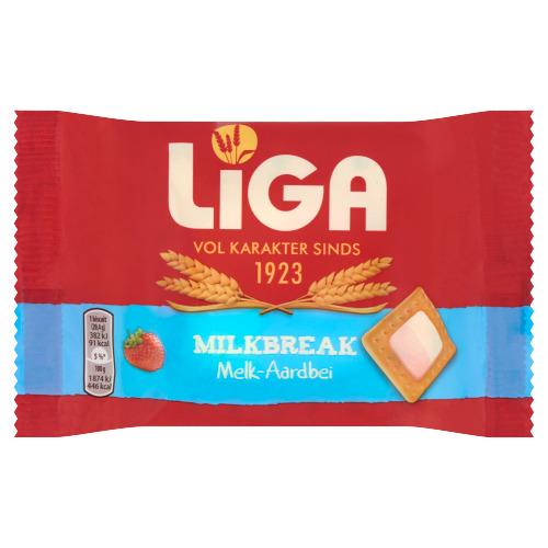 Liga Milkbreak Melk-Aardbei 40,5 g (40.5g)