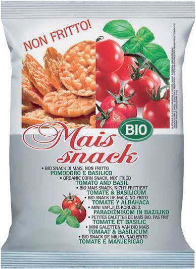 Mais snack tomaat-basilicum (50g)