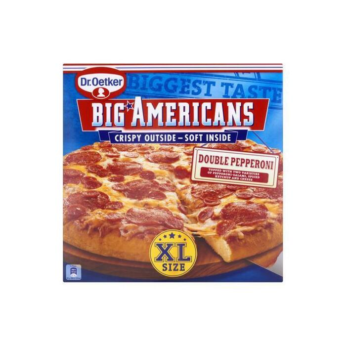 Big Americans XL double pepperoni (565g)