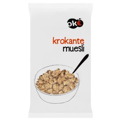 Krokante muesli (zak, 1kg)
