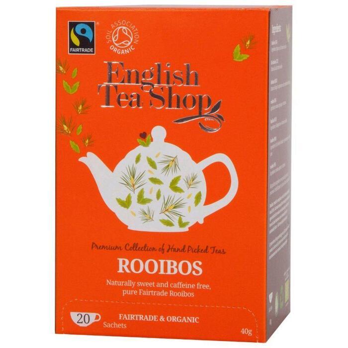 Englisch Tea Shop, Rooibos (20 × 40g)