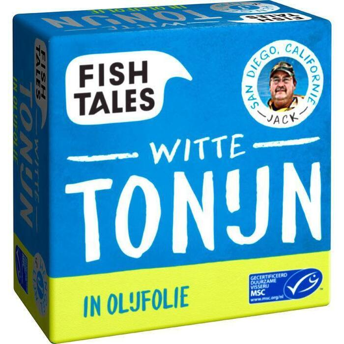 Jacks Tonijn in Olijfolie, MSC (blik, 80g)