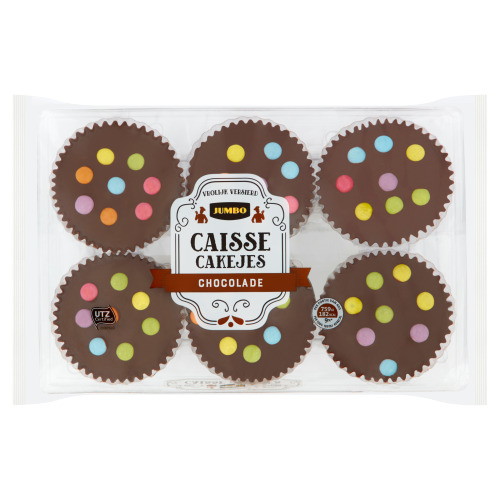 Jumbo Caisse Cakejes Chocolade 240 g (240g)