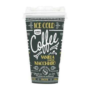 Jumbo Macchiato IJskoffie Vanilla Flavour 250 ml (250ml)